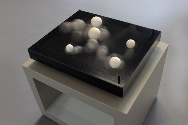 kinetic interactive sculptures